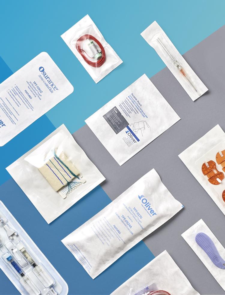 Heißsiegelfähige medizinische Verpackungs-Klebstoffe | Oliver Healthcare Packaging