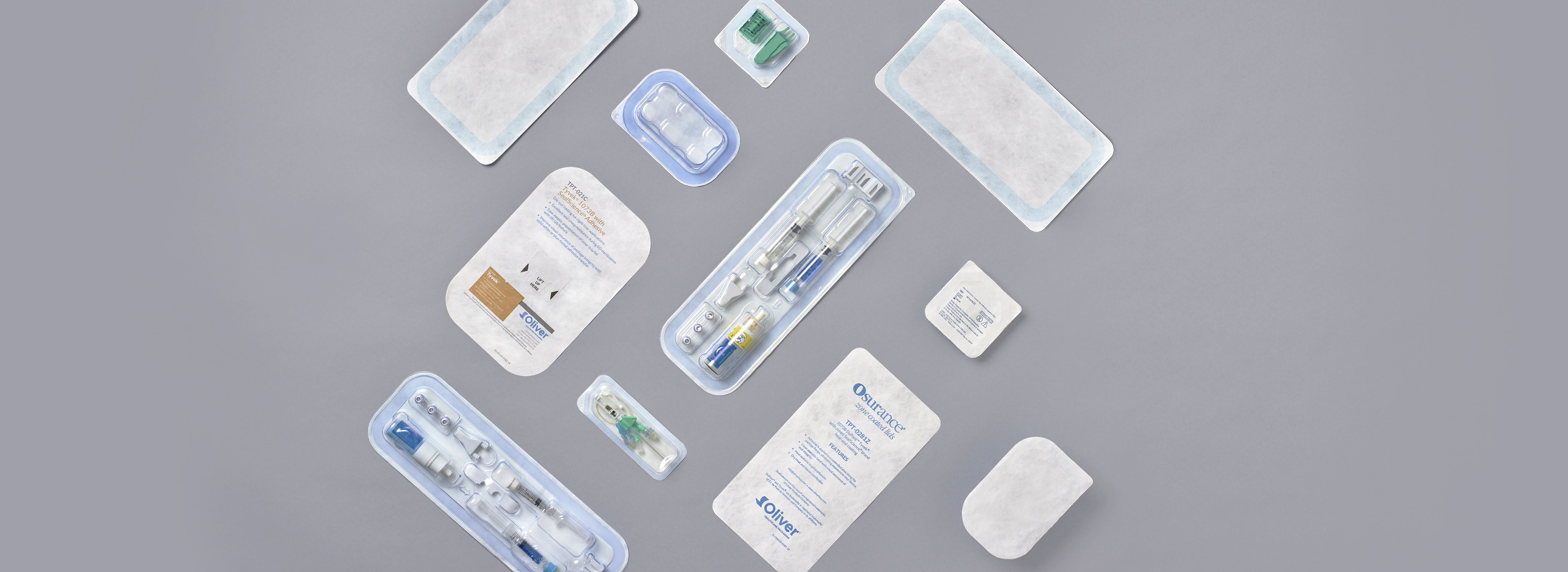 Die-Cut Lids for Medical Packaging  | Oliver Healthcare Packaging