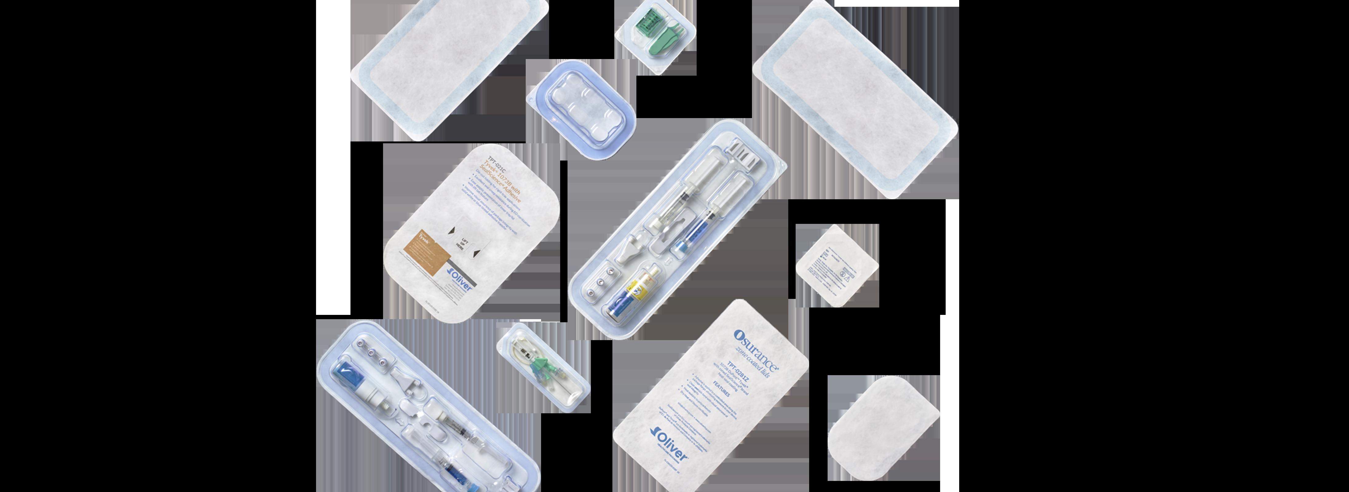 Gestanzte Deckel für medizinische Verpackungen | Oliver Healthcare Packaging